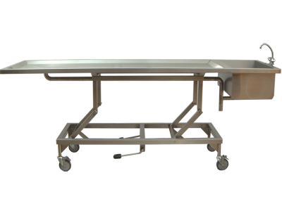 Sectietafel of verzorgingstafel met wasbak type S123