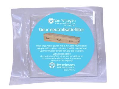 Geurfilter haalt ongewenste geuren weg d.m.v. geurneutralisatie.