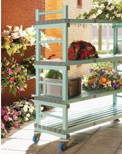 bloemenwagen